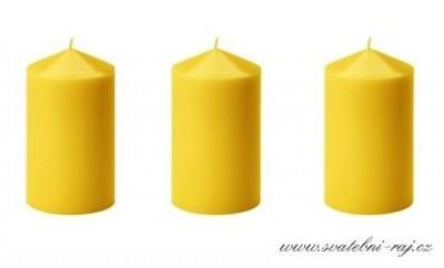 Svíčka žlutá