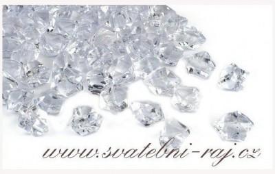 Ledové krystaly dekorační