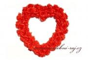 Nádherné velké srdce, 60 cm velikost