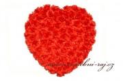 Nádherné plné srdce, 60 cm velikost
