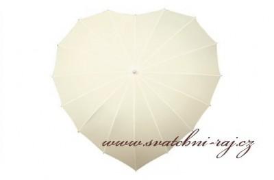 Deštník srdce