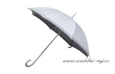 Svatební krajkový deštník
