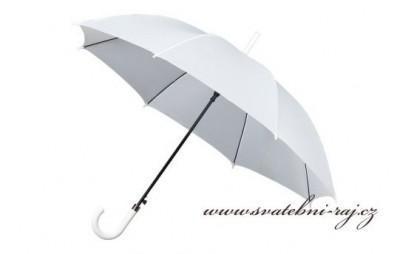 Bílý deštník