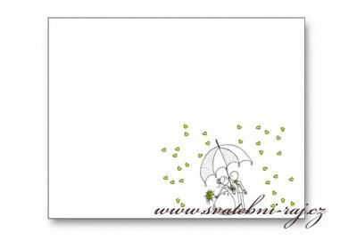 Svatební kartička