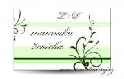 Zobrazit detail - Svatební jmenovka