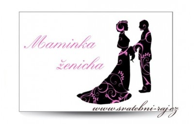 Jmenovka novomanželé