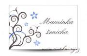 Zobrazit detail - Svatební jmenovka spirálky