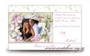 Zobrazit detail - Pozvánka na oslavu s fotografií