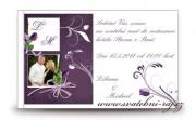 Zobrazit detail - Pozvánka na oslavu Violett s fotografií