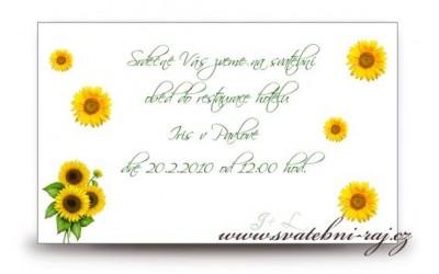 Pozvánka slunečnice