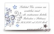 Zobrazit detail - Pozvánka na oslavu se spirálkami