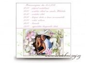 Zobrazit detail - Harmonogram svatebního dne s fotografií