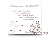 Zobrazit detail - Harmonogram svatebního dne s kytičkami