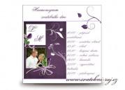 Zobrazit detail - Harmonogram svatebního dne violett