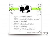 Zobrazit detail - Harmonogram svatebního dne medailon