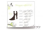 Zobrazit detail - Harmonogram svatebního dne s postavami
