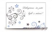 Zobrazit detail - Poděkování za svatební dary se spirálky