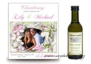 Zobrazit detail - Svatební víno s fotografií