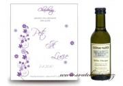 Zobrazit detail - Svatební mini víno s květinami