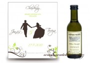 Zobrazit detail - Svatební mini víno se siluetami