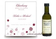 Zobrazit detail - Svatební mini víno s růžičkami