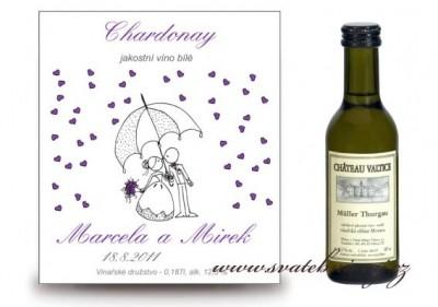 Svatební mini víno