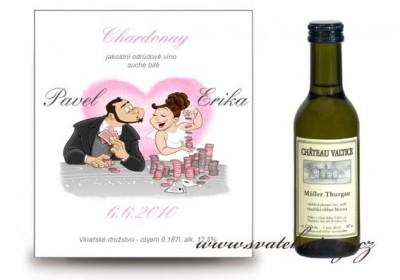 Víno svatební