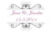 Zobrazit detail - Krásné svatební logo
