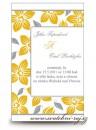 Zobrazit detail - Svatební oznámení oranžové květy