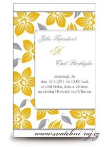 Svatební oznámení 2014