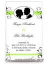 Zobrazit detail - Svatební oznámení medailonek