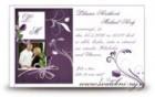 Svatební oznámení Violett