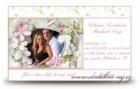 Svatební oznámení Flowers