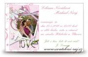 Zobrazit detail - Svatební oznámení Love