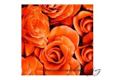 Ubrousky s růžemi