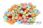 Čokoládová mini srdíčka mix barev
