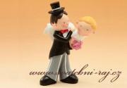 Zobrazit detail - Vtipná figurka na svatební dort