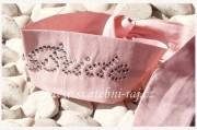 Zobrazit detail - Čelenka s nápisem BRIDE růžová