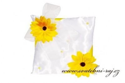 Polštářek slunečnice