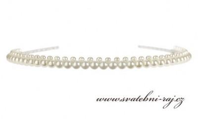 Čelenka z perel
