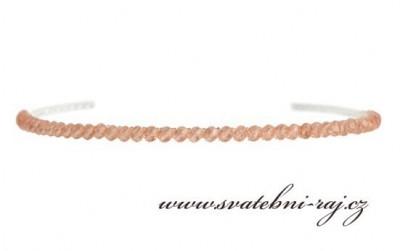 Čelenka s perlami