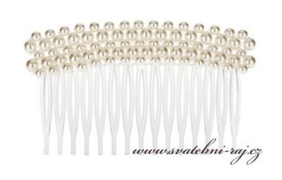 Hřebínek s perlami