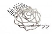 Zobrazit detail - Jemný hřebínek s růžičkou