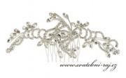 Zobrazit detail - Luxusní štrasový hřebínek