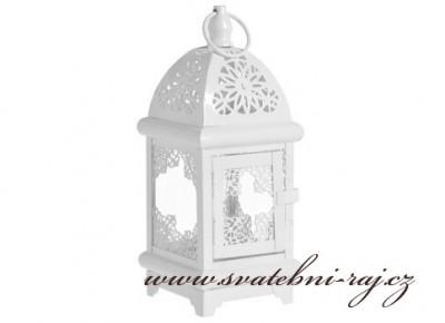 Kovová lucerna s ornamenty