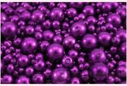 Zobrazit detail - Voskové perličky purpurové
