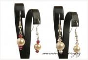Zobrazit detail - Jemné náušnice perly