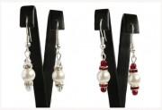 Zobrazit detail - Náušnice s perlou a korálky