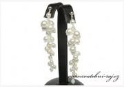Zobrazit detail - Luxusní svatební náušnice