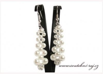 Náušnice perly